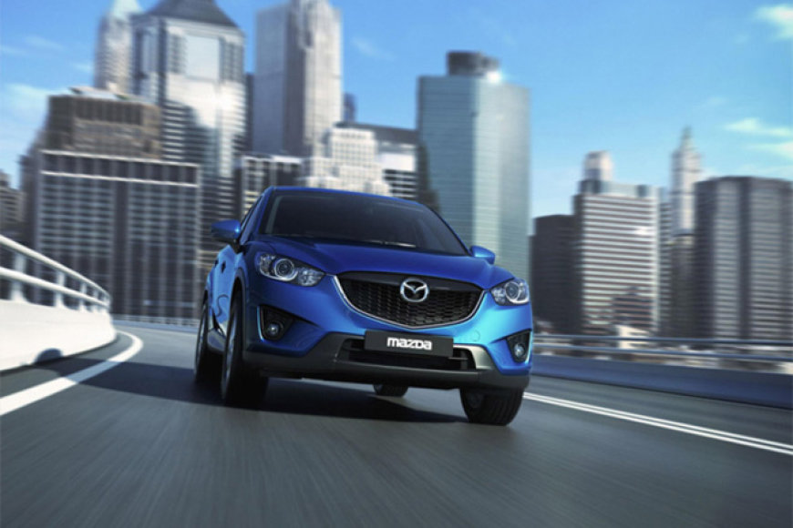 "Naujoji ""Mazda CX-5"""