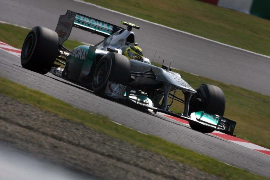 "Nico Rosbergas, ""Mercedes"""