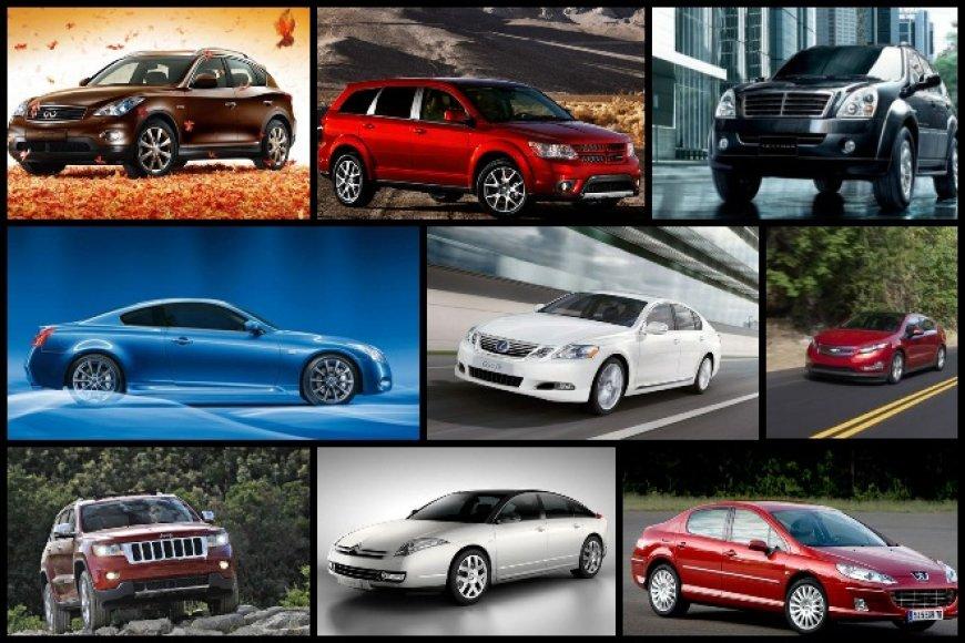 Prasčiausiai 2011-ųjų rugsėjo mėnesį parduodami automobiliai Vokietijoje