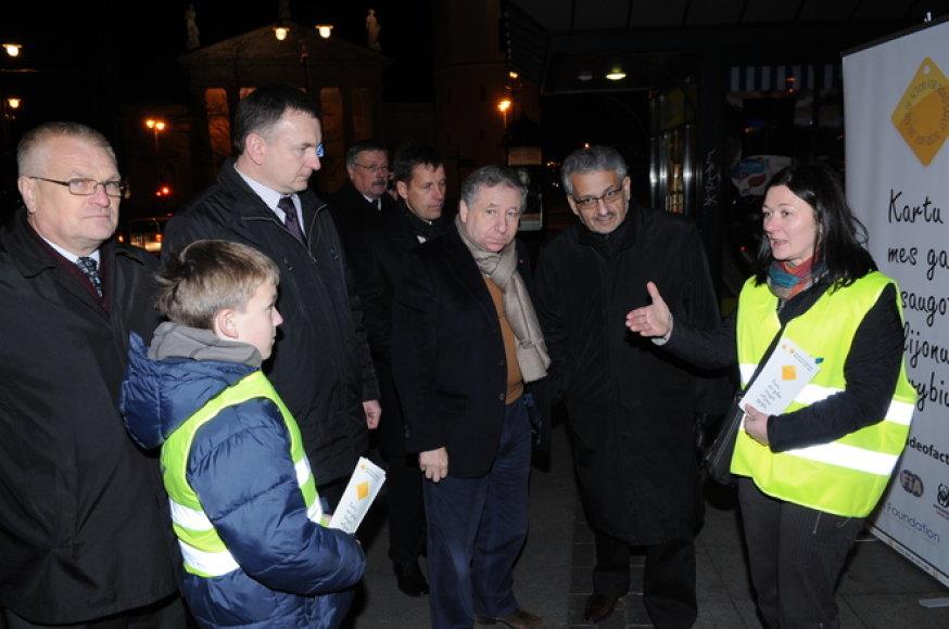 Jeanas Todtas atvyko į Lietuvą