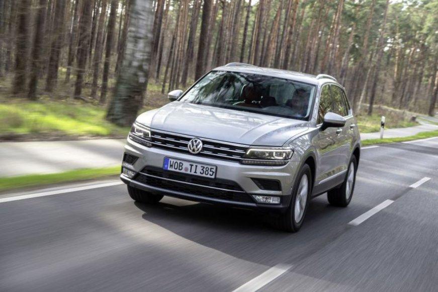 Gamintojo nuotr./Volkswagen Tiguan