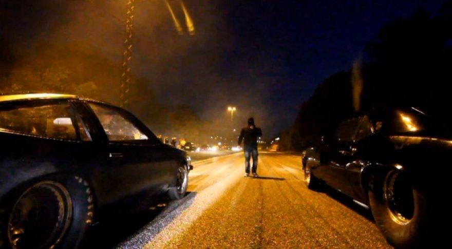 Nelegalios lenktynės Švedijoje