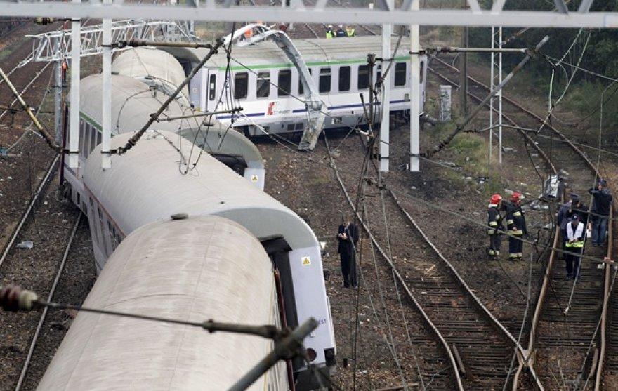 Lenkijoje nuo bėgių nuriedėjo tarptautinis greitasis keleivinis traukinys