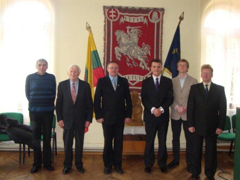 Naujoji frakcijos valdyba