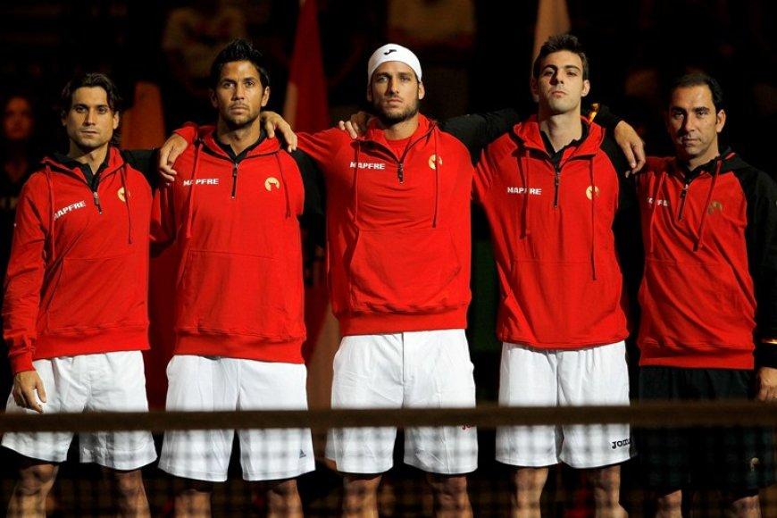 Ispanijos teniso rinktinė