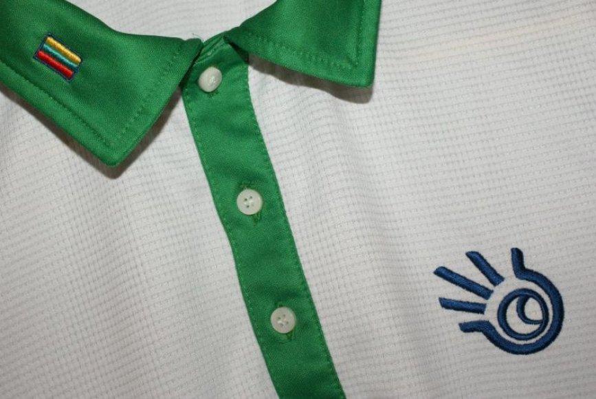 Lauryno Grigelio marškinėliai su kuriais jis žaidė Vilniuje