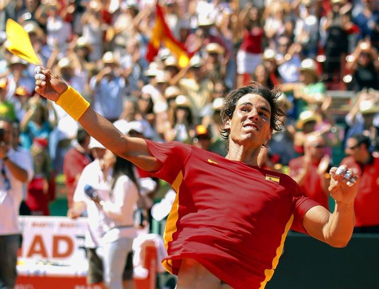 Ispanijos rinktinė Daviso taurės finale