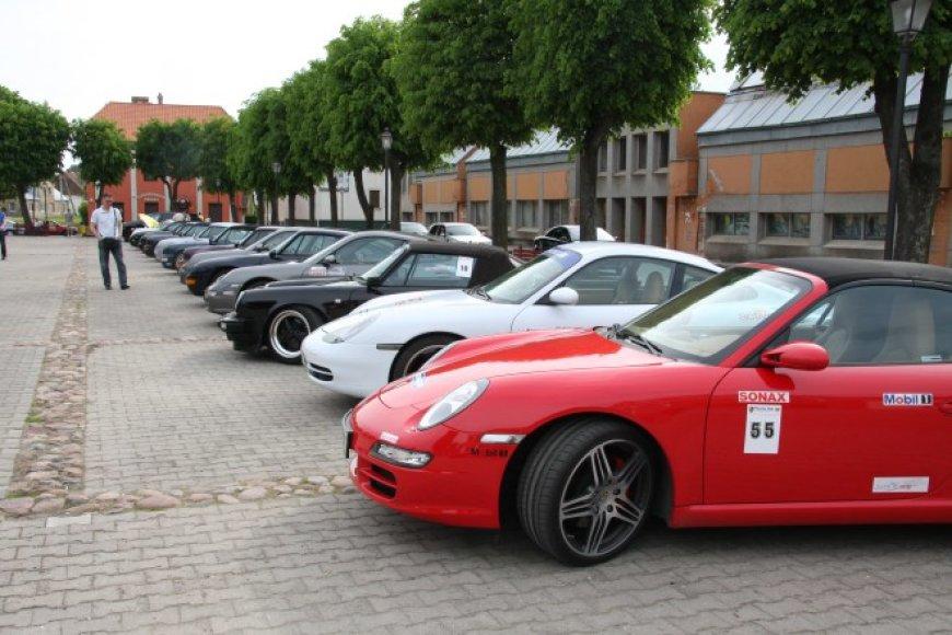 """Porsche"" klubo renginiai"