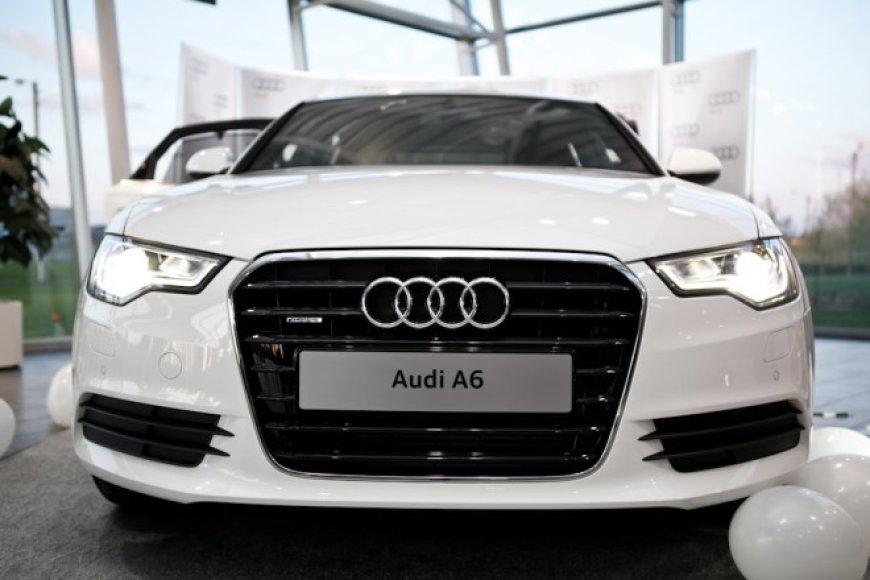 """""""Audi A6"""" debiutas Kaune"""