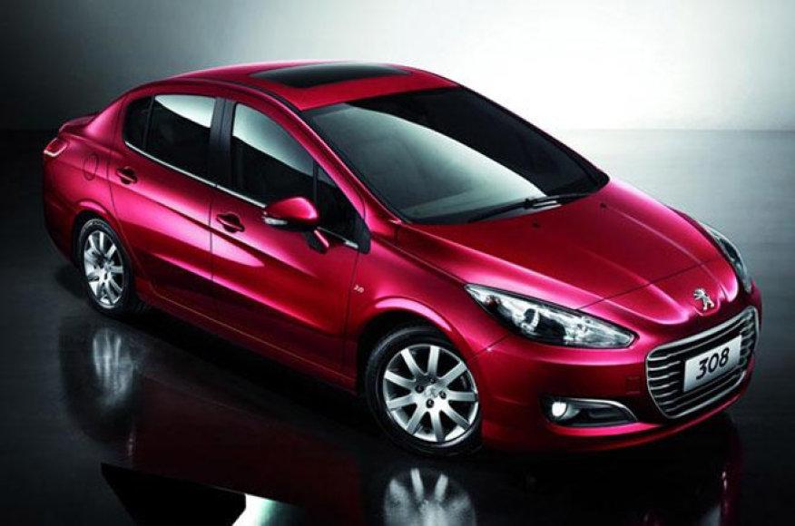 """""""Peugeot 308"""" sedanas"""