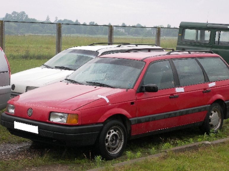 Sulaikytas Volkswagen Passat
