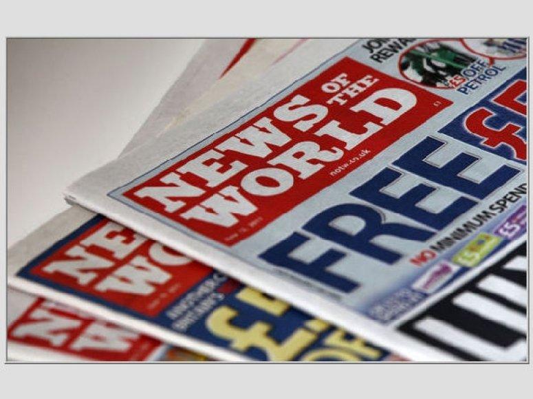 """""""News of the World"""" laikraštis"""