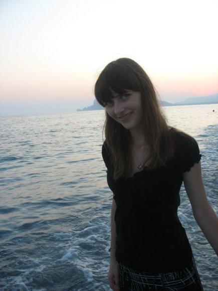 Autorė Turkijos kurorto pakrantėje