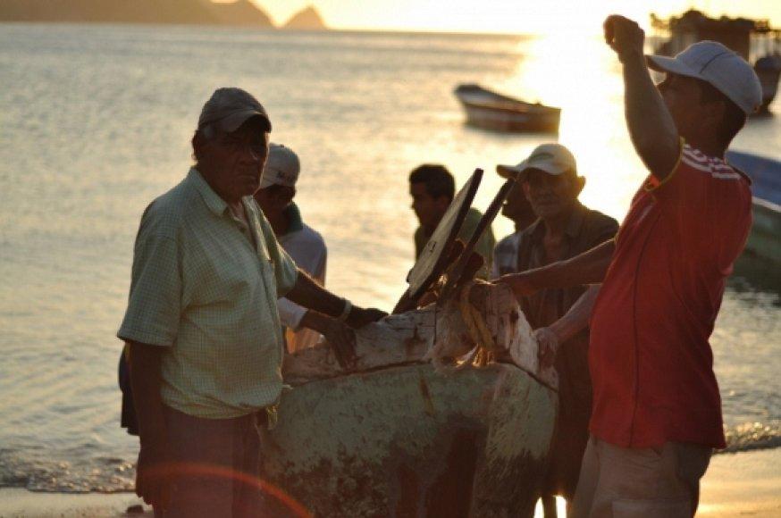 Tagangos žvejai