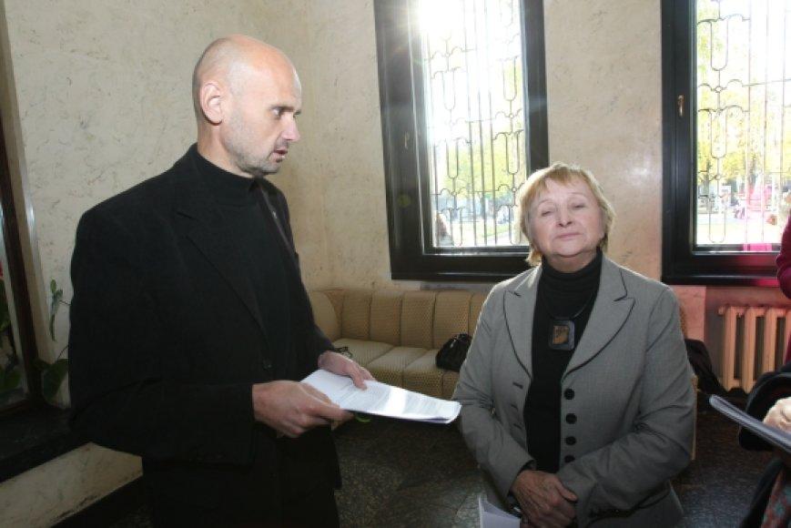G.Labanauskas ir A.Medviedevienė