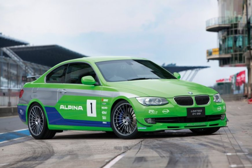 BMW Alpina B3 GT3 trasoje