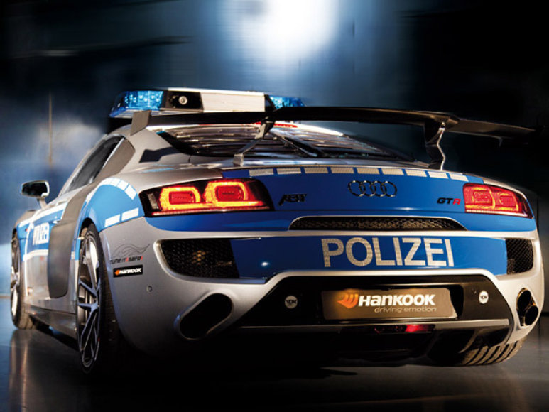 Audi R8 GTR policija 6
