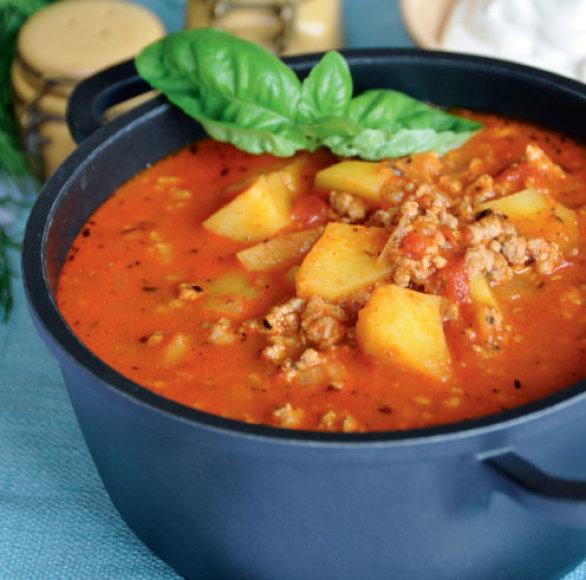 Pikantiška faršo sriuba
