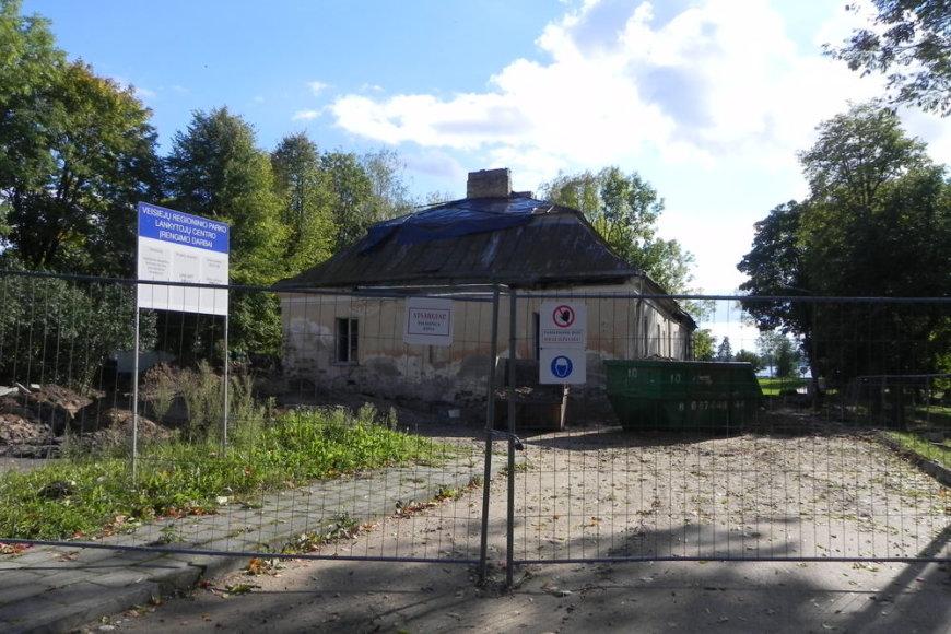 Veisiejų dvaro pastatas