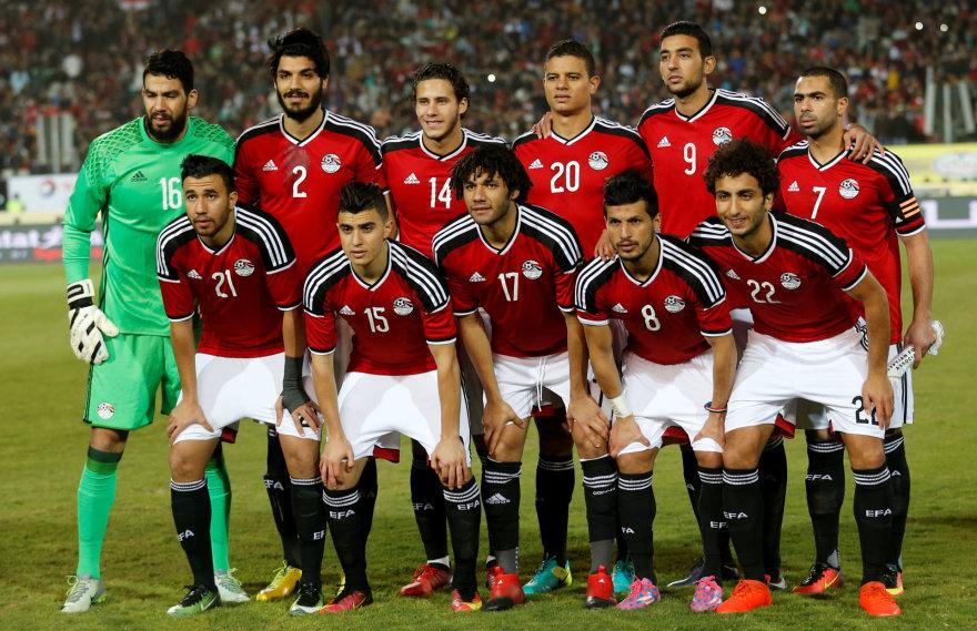 """""""Scanpix"""" nuotr./Egipto futbolo rinktinė"""