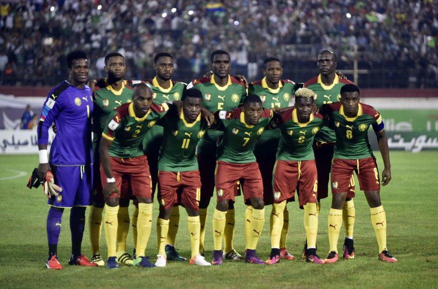 """Scanpix"" nuotr./Kamerūno futbolo rinktinė"