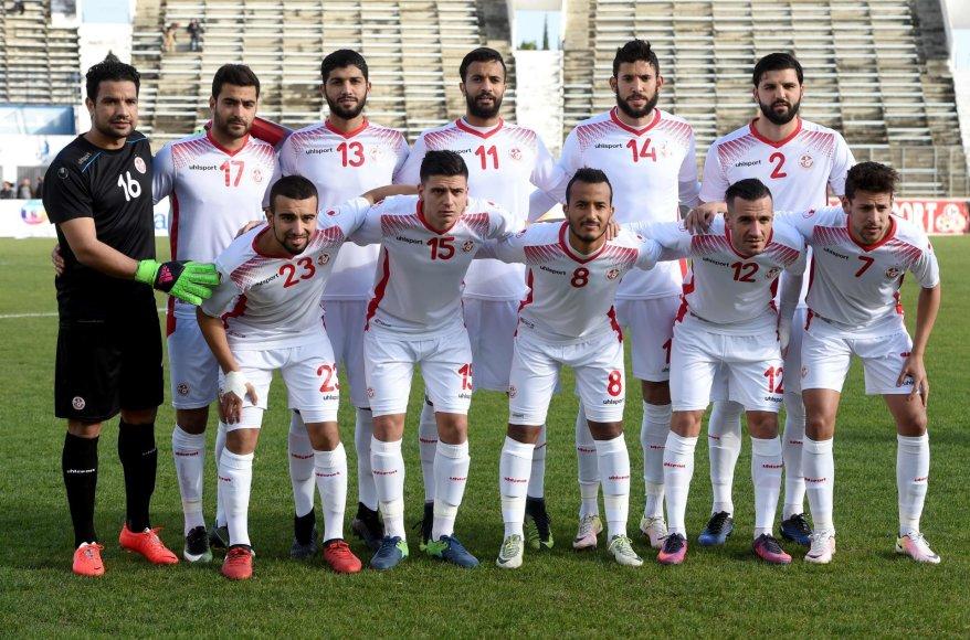 """Scanpix"" nuotr./Tuniso futbolo rinktinė"