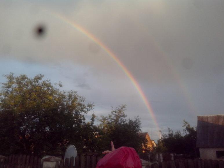 Vaivorykštė po audros, Lentvaris