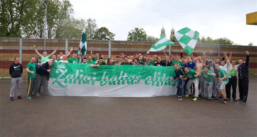 """Kauno """"Žalgirio"""" fanai skelbia apie klubo 70-metį"""