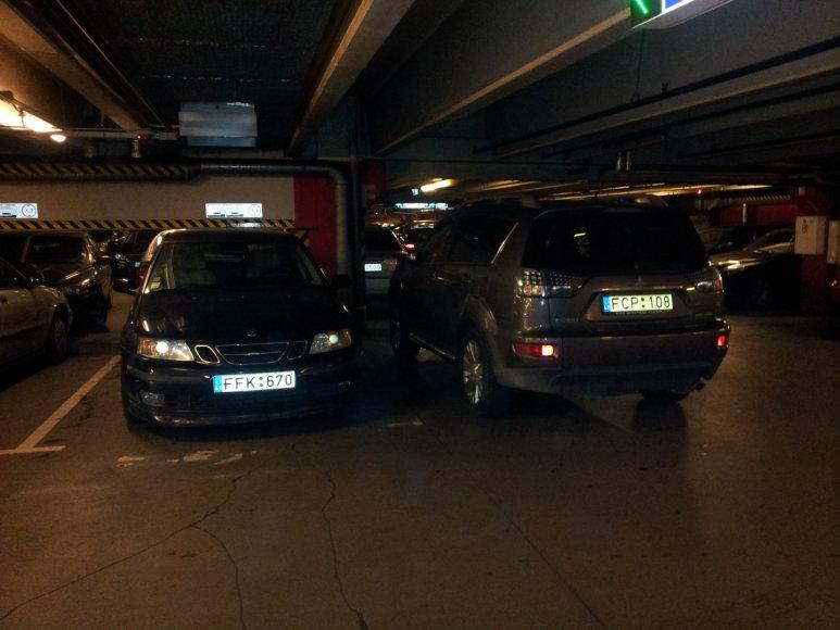 Parkavimosi ypatumai prekybos centre