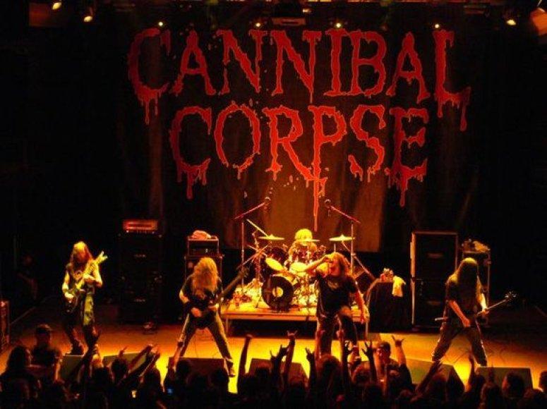 "Grupė ""Cannibal Corpse"""