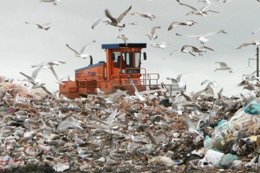 Kai kurie gyventojai jau nusprendė nemokėti rinkliavos už komunalines atliekas.