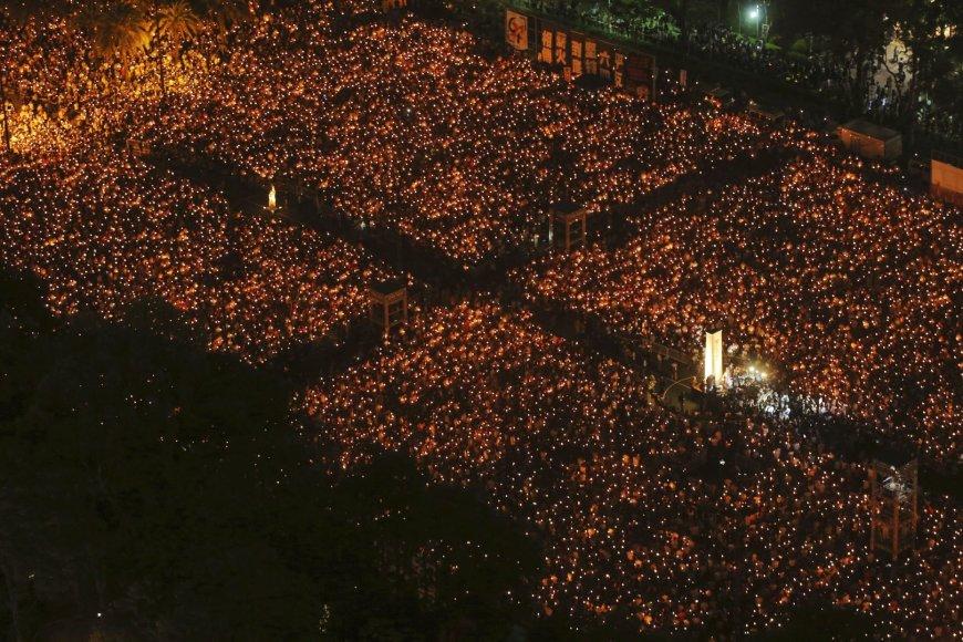 Minėjimas Honkonge