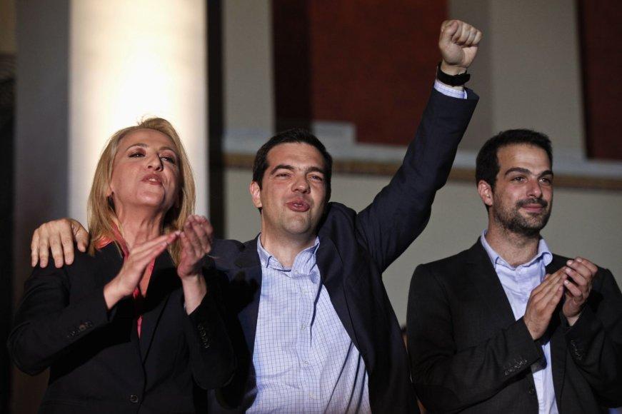 """""""Syriza"""" vadovai"""