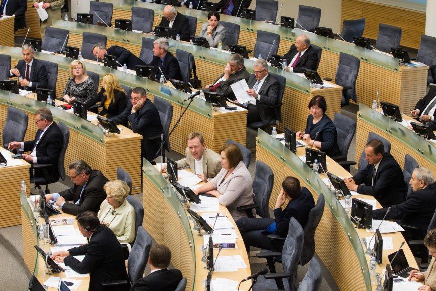 Posėdis dėl generalinio prokuroro Dariaus Valio nušalinimo