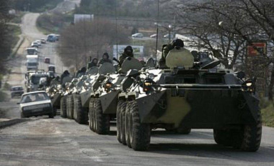 Rusijos karinės technikos kolona