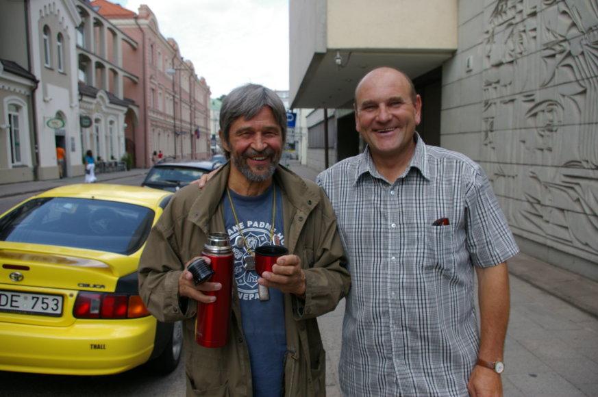 Viena paskutiniųjų Gerimanto Statinio nuotraukų su Pauliumi Normantu