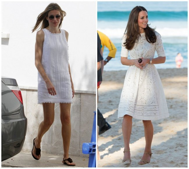 Ispanijos princesė Letizia ir Kembridžo hercogienė Catherine
