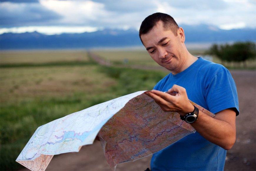 Kazachai žemėlapyje dairosi ir Lietuvos