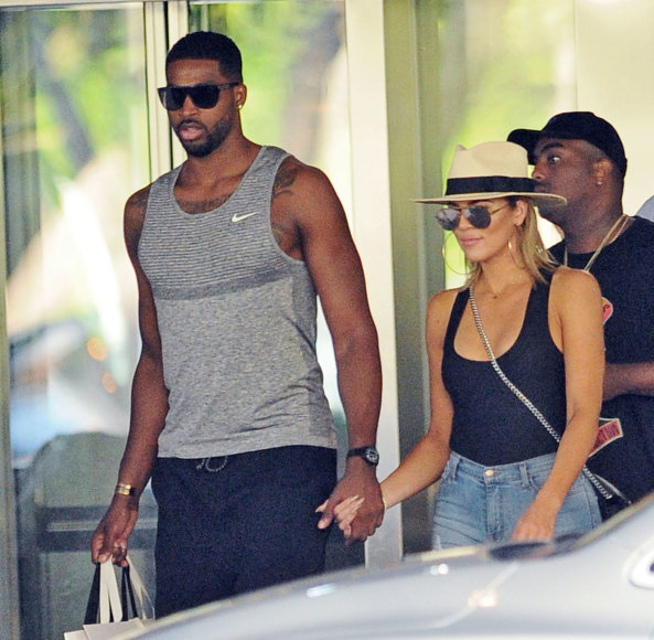 Khloe Kardashian ir Tristanas Thompsonas