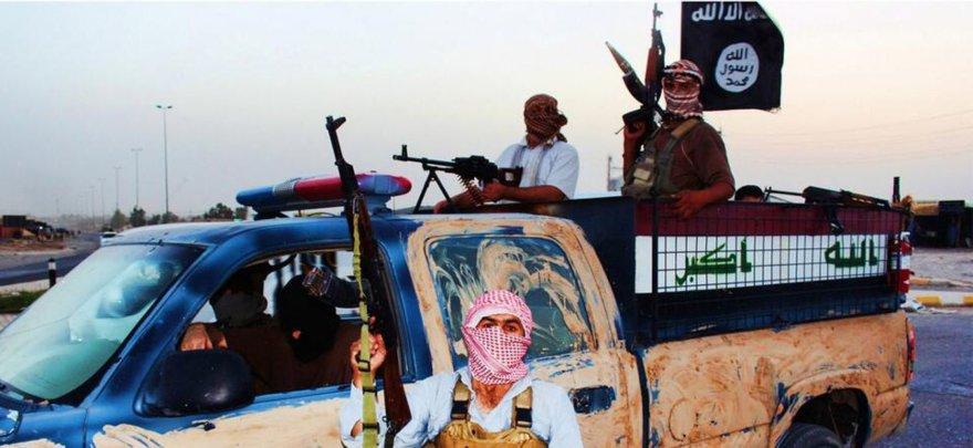 ISIL teroristai Irake