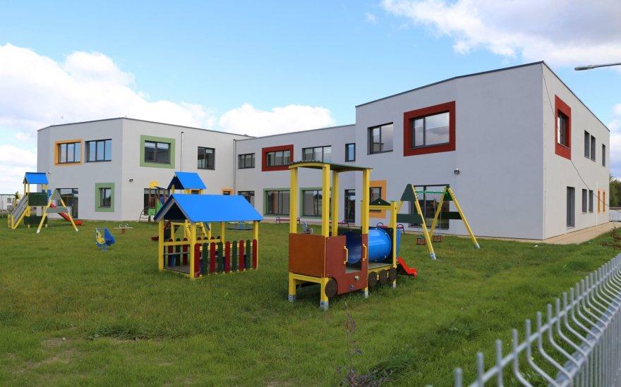 Naujas vaikų darželis Vijūkų kaime