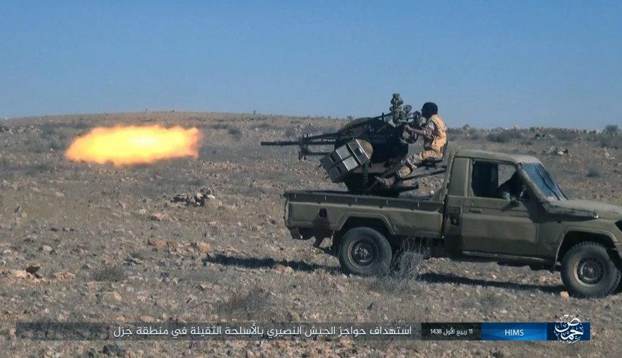 """""""Islamo valstybės"""" kovotojai toliau siautėja Sirijoje"""