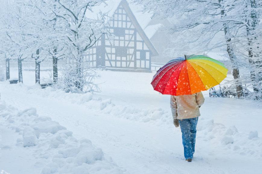 Žiemos kraštovaizdis