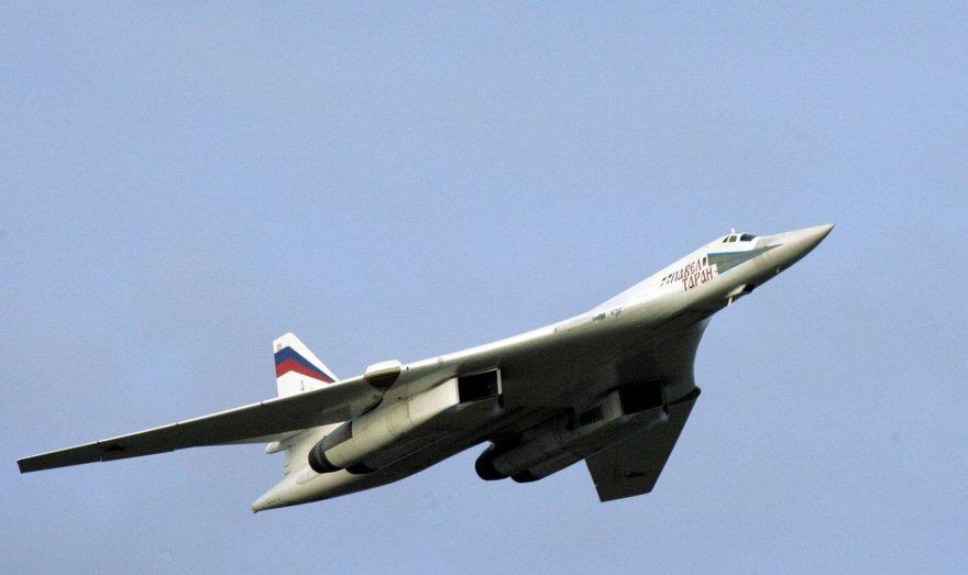 Rusijos lėktuvas Tu-160