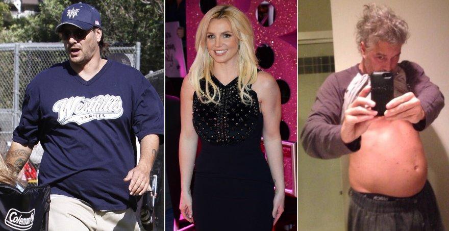 Kevinas Federline'as, Britney Spears ir Jasonas Trawickas