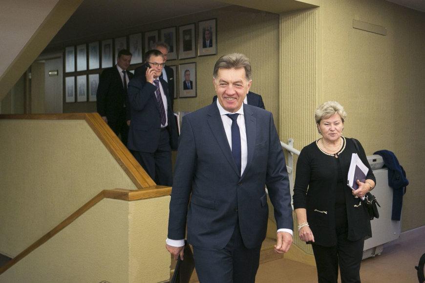 Valstiečiai-žalieji ir socialdemokratai susitiko užbaigti derybų dėl koalicijos