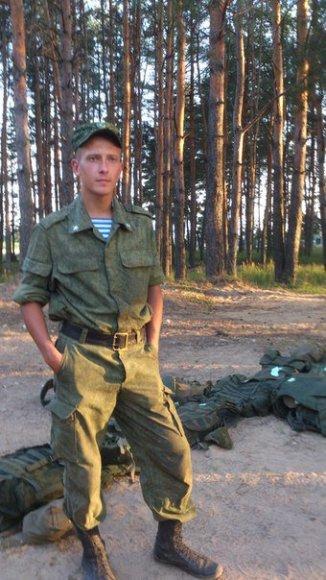Donbase žuvęs Rusijos karys Sergejus Andrijanovas