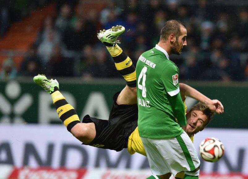 """""""Werder"""" nokautavo """"Borussia"""""""