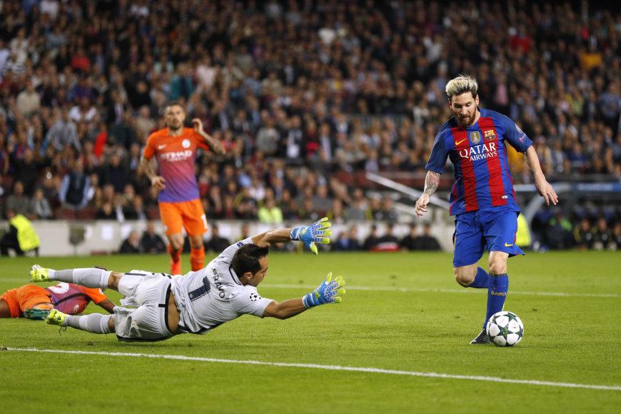 Pirmasis Lionelio Messi įvartis