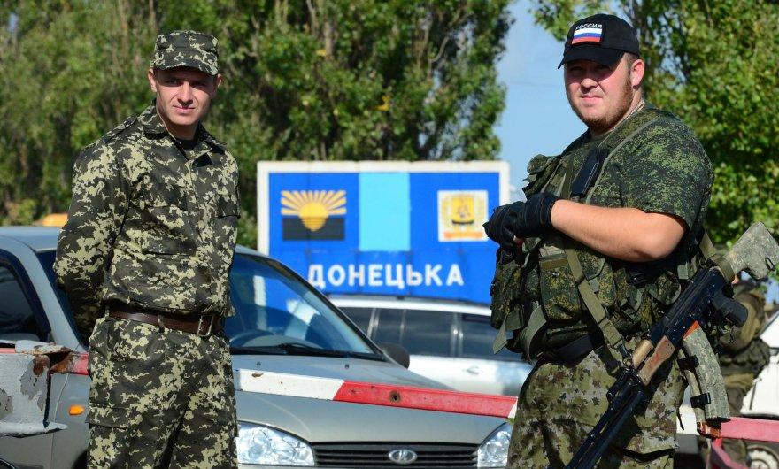 Į rytų Ukrainą lieti kraujo suplūdo teroristai iš visos Rusijos